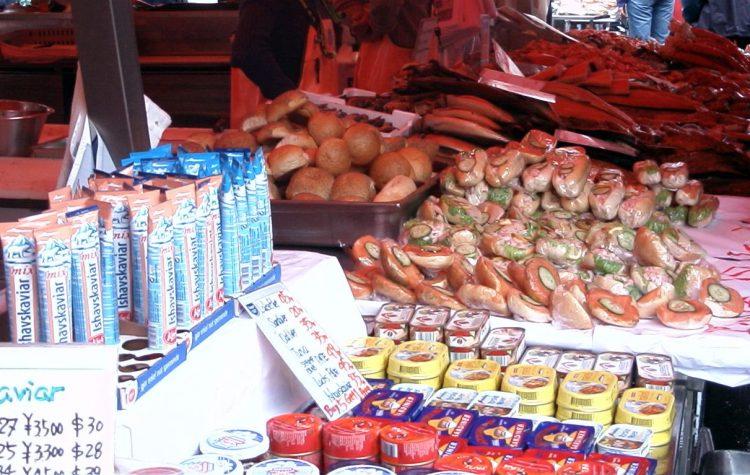 Au marché de Bergen