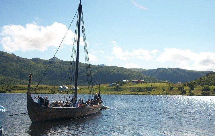 Drakkar du musée Viking des îles Lofoten, 2010