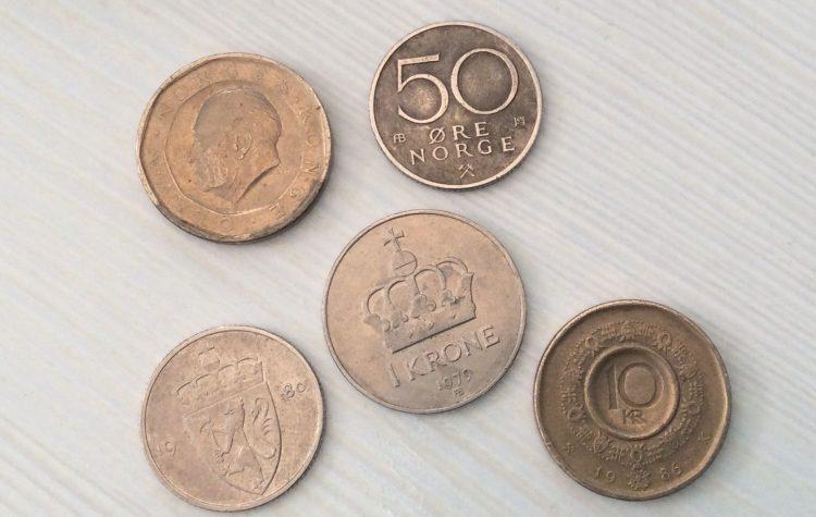 Pièces de monnaie norvégienne