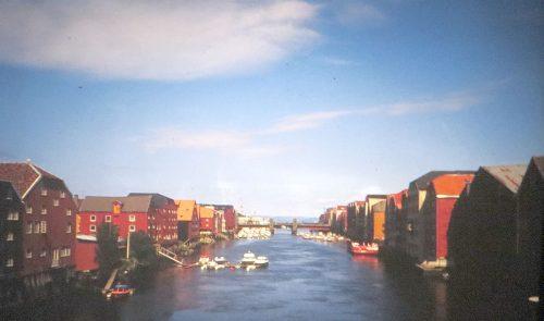La vieille ville de Trondheim