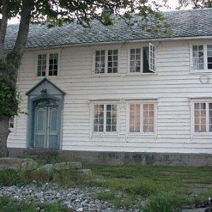 Maison que nous avons louée près de Alesund
