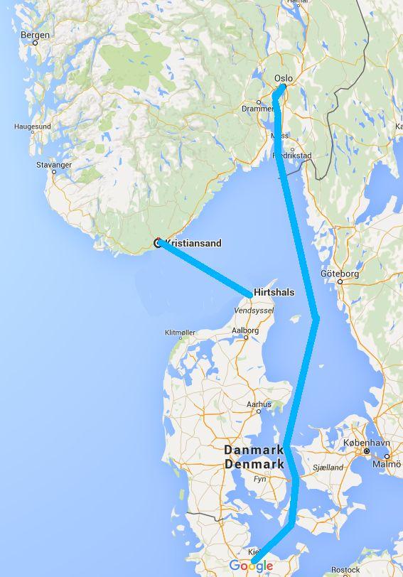 Les Ferrys Et Routes Pour Se Rendre En Norvege Troll Fjord