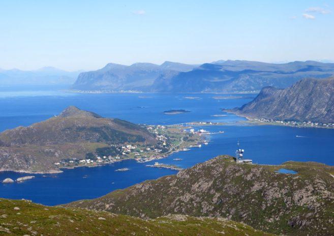 Les îles à l'ouest d'Alesund : Nerlandsoya