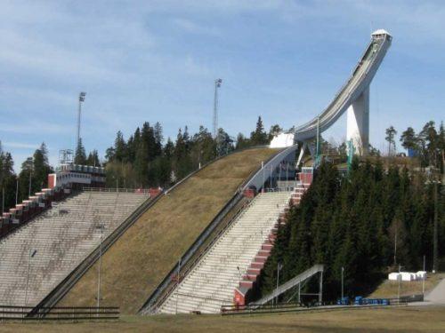Tremplin à ski de Holmenkollen à Oslo