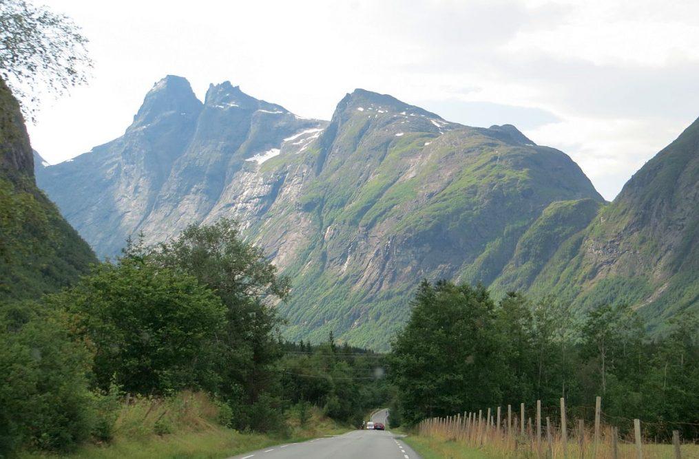 en route vers la Trollstigen
