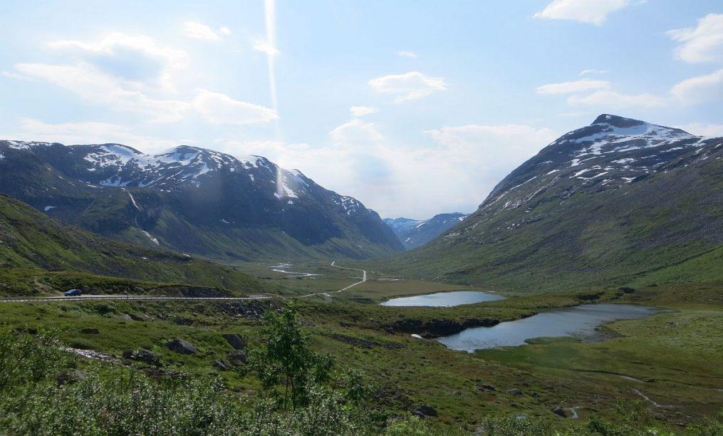 Plateau après la TrollStigen