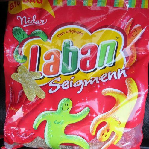 Nos bonbons norvégiens préférés, toujours dans la boite à gants de la voiture