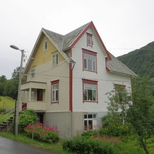 La maison que nous avons louée à Brandal