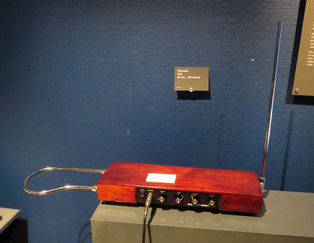 Le thérémine au musée de Ringve à Trondheim