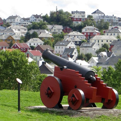 Le fort de Trondheim