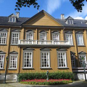 Cour du palais royal de Trondheim