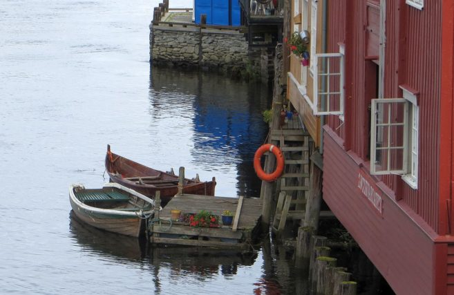 Vieux quais de Trondheim