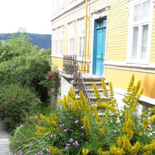 Quartier du fort à Trondheim