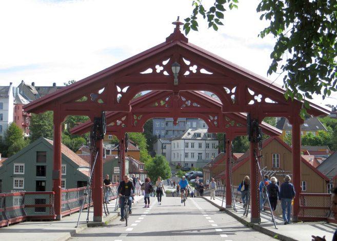 Vieux pont de Trondheim