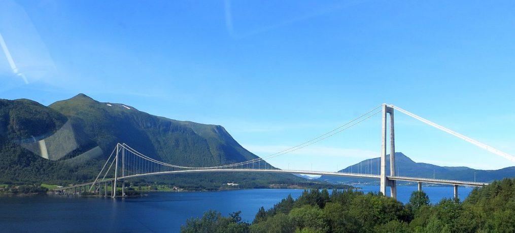 en allant vers Kristiansund