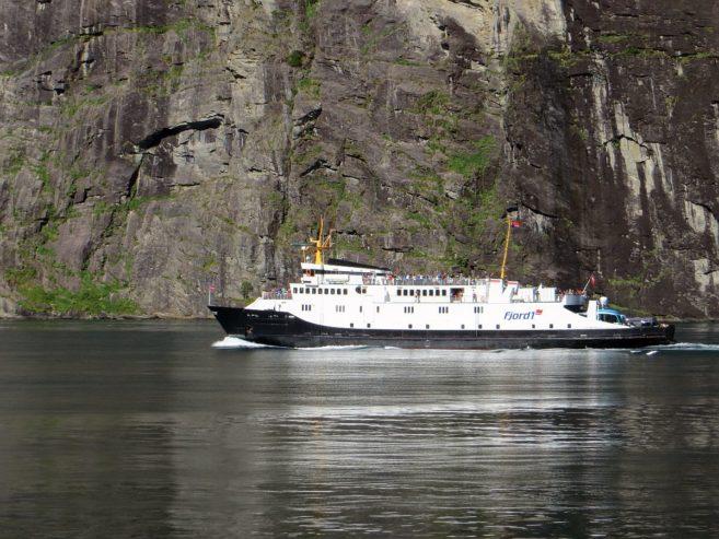 Le ferry de Hellesylt